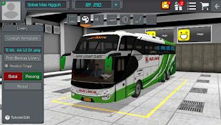 Review Livery Bus Bussid Avante Maju Lancar ets 2