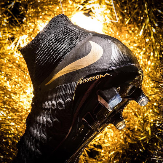 c203d33fb Special Edition Black   Gold Nike Hypervenom Phantom 3  Game of ...
