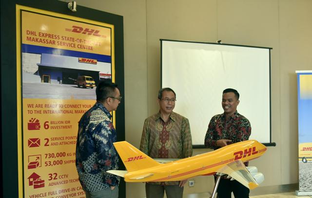 DHL Express Resmikan Service Center di Makassar Senilai 6 Milliar