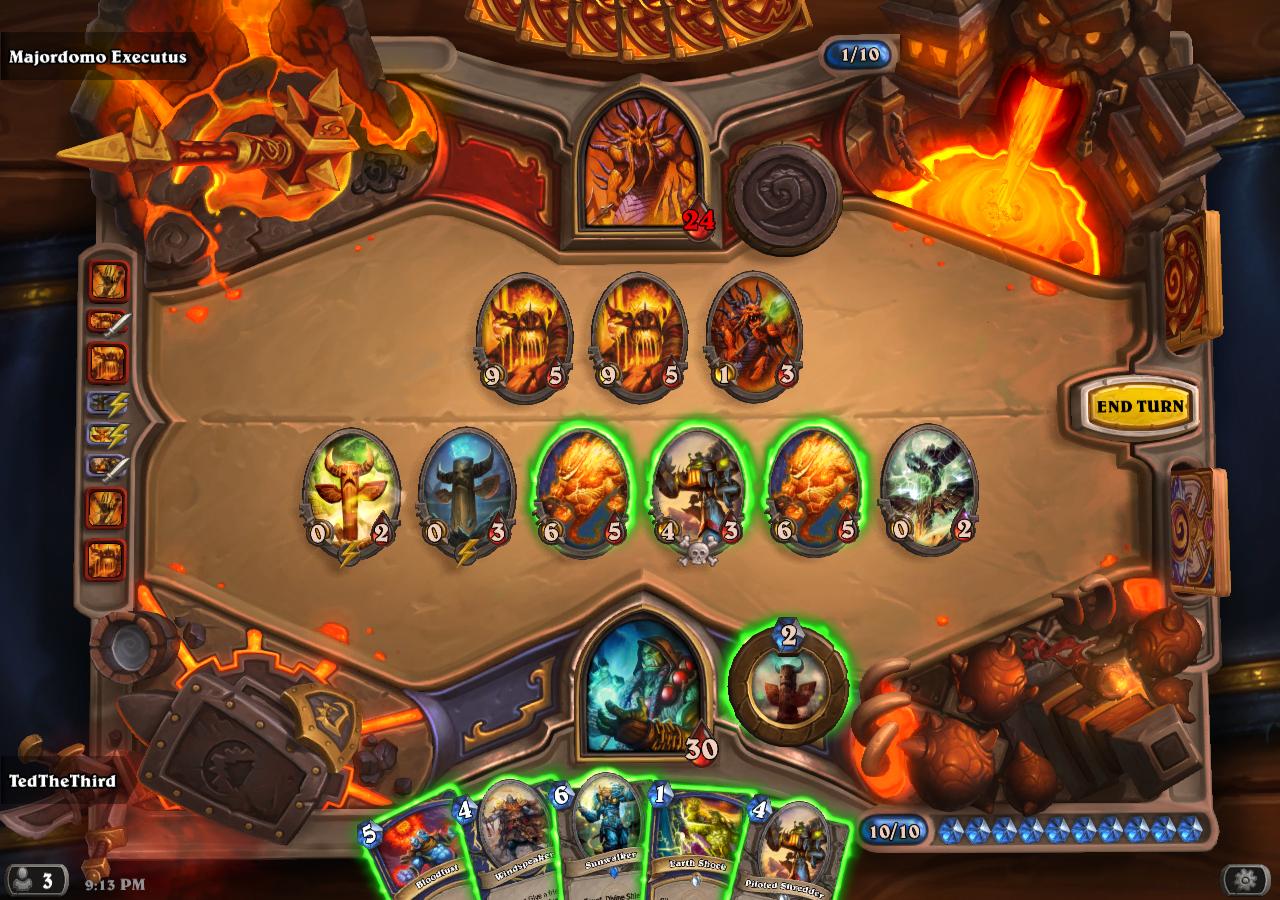 honor s code hearthstone defeating ragnaros normal