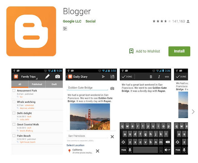 Blogger App For Bloggers on Google Play