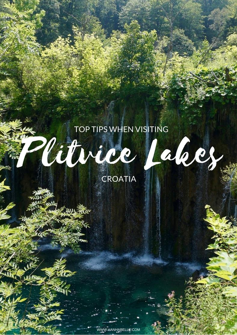 TOP TIPS WHEN VISTING PLITVICE LAKES, CROATIA