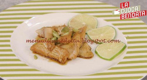 La Cuoca Bendata - Pesce caramellato al lime ricetta Parodi