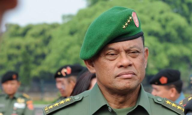 Panglima Tentara Nasional Indonesia Jenderal Gatot Nurmantyo