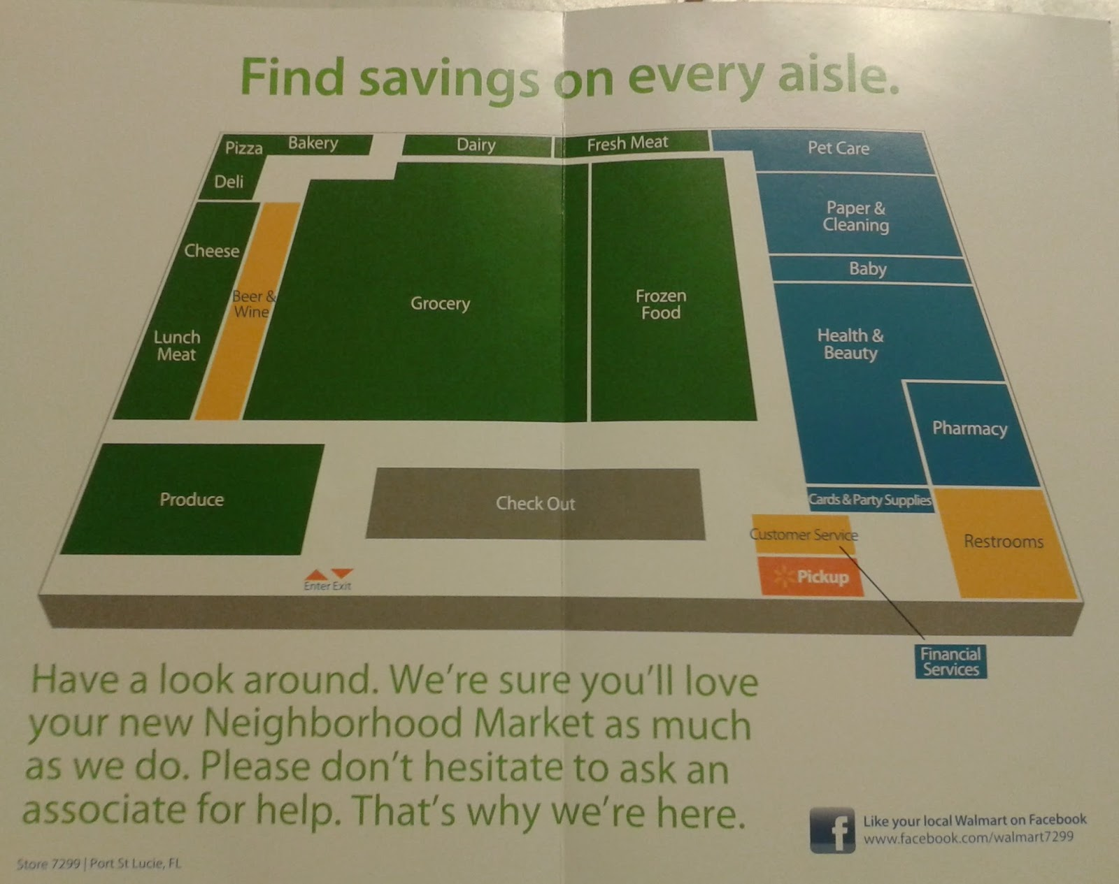 Walmart Store Layout Plan Www Topsimages Com