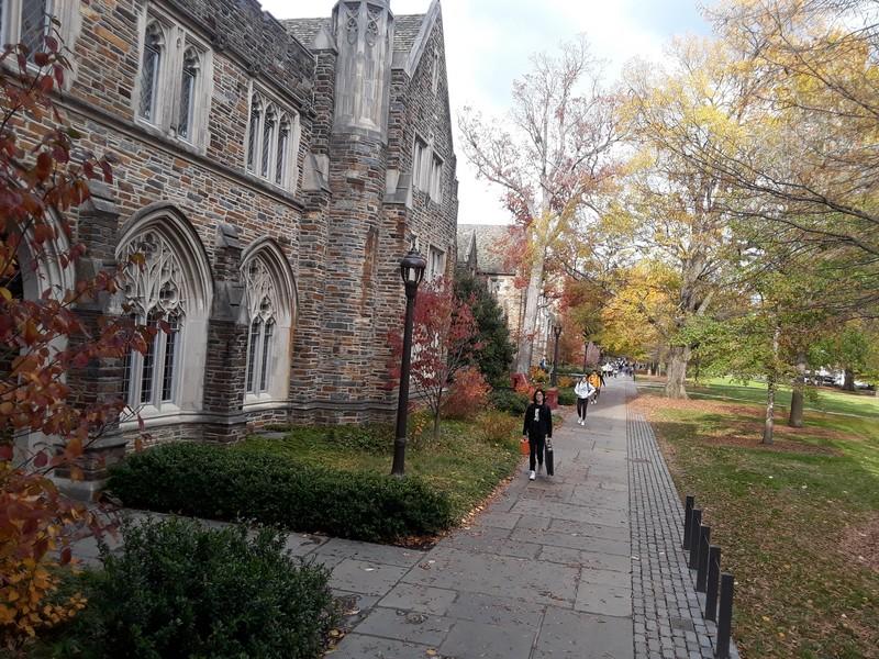 Balade dans le Campus de Duke
