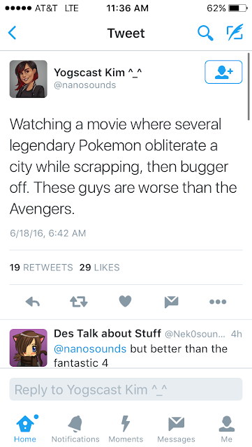 Pokemon collateral damage worse than the Avengers
