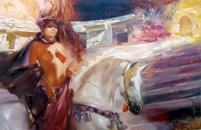 caballos-arabes-con-mujeres-bonitas