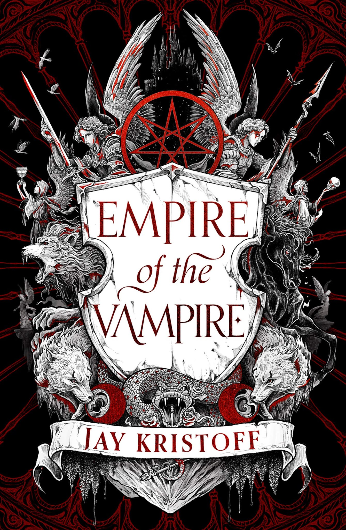 Empire of the Vampire by Jay Kristoff (UK Edition)