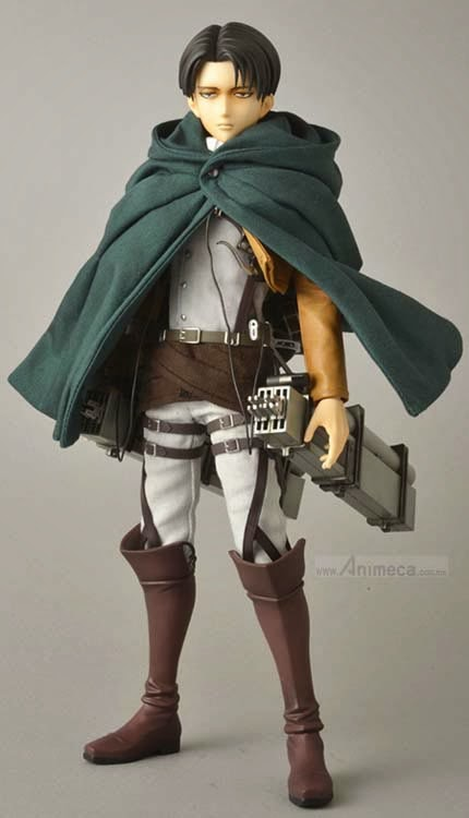 LEVI REAL ACTION HEROES FIGURE Shingeki no Kyojin Medicom Toy