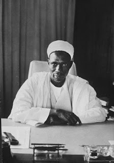 The first Prime Minister of Nigeria - Alhaji Sir Abubakar Tafawa  Balewa