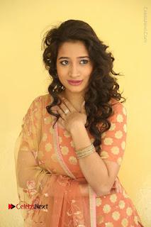 Telugu Actress Santoshi Sharma Latest Stills in Salwar Kameez at HBD Movie Teaser Launch  0020.JPG