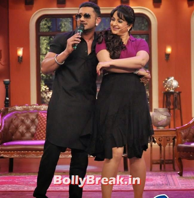 Honey Singh and Upasana Singh, Honey Singh on Comedy Nights With Kapil