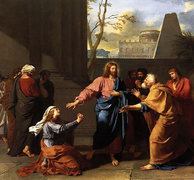 Drouais: Christ and the Canaanite Woman