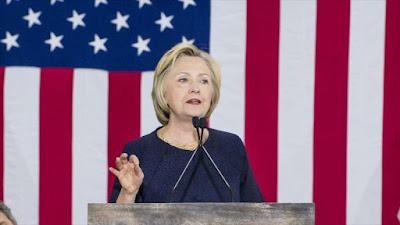 La precandidata demócrata a la Casa Blanca, Hillary Clinton.