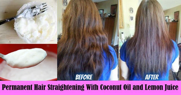 how to make your hair permanently straight