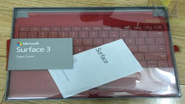 Bàn phím Surface Pro 3, Pro 4