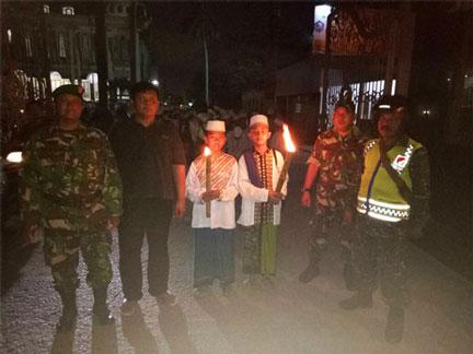 Warga Babelan Sambut Ramadhan Dengan Pawai Keliling Dan Pawai Obor