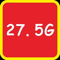 網路熱門關鍵字:27.5G