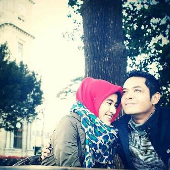 Gambar pasangan artis Indonesia paling cucok tahun ini Dude - Alissa