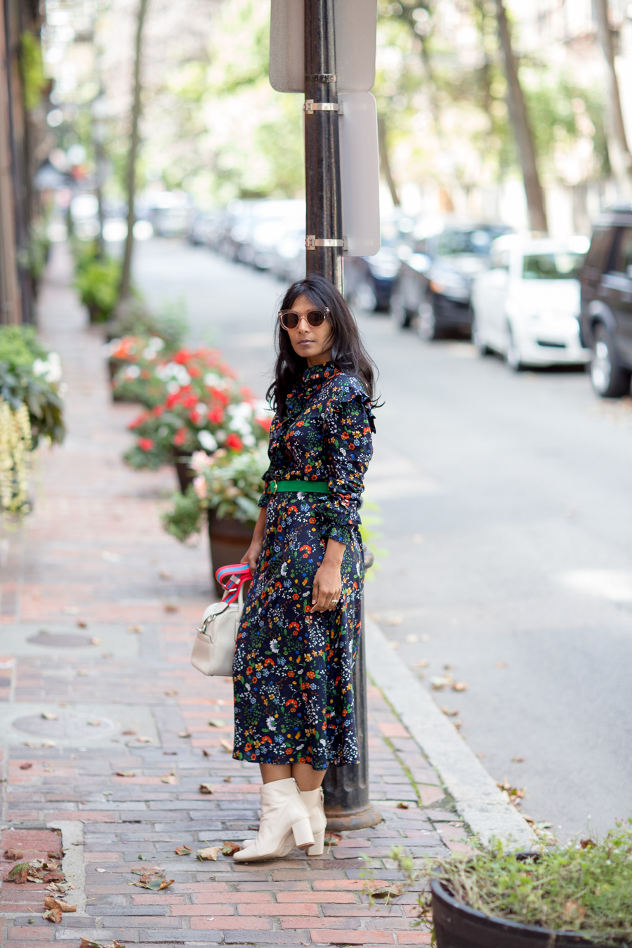 fall fashion, mididress, european style, edgy, afforable style, petite style, petite blogger, h&m, banana republic, marc jacobs, style tips