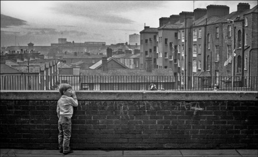 Dublin Inner City 1980s  vintage everyday