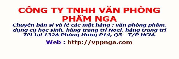 Công ty TNHH Văn Phòng Phẩm Nga