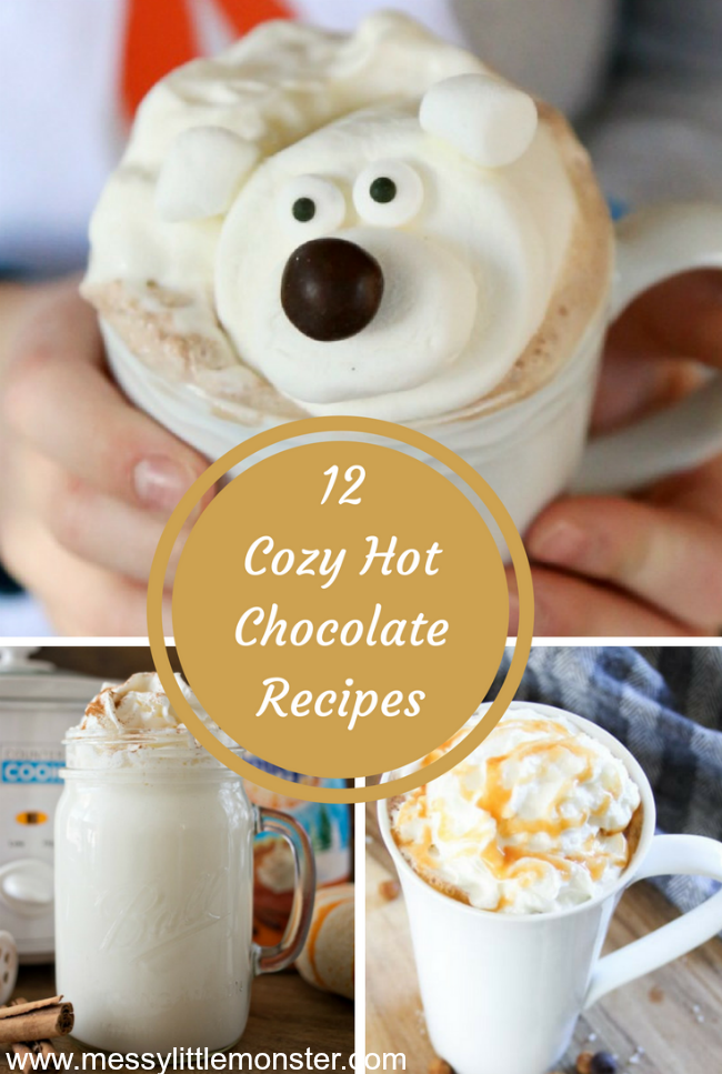 Cosy hot chocolate recipes to keep you warm over the Winter.