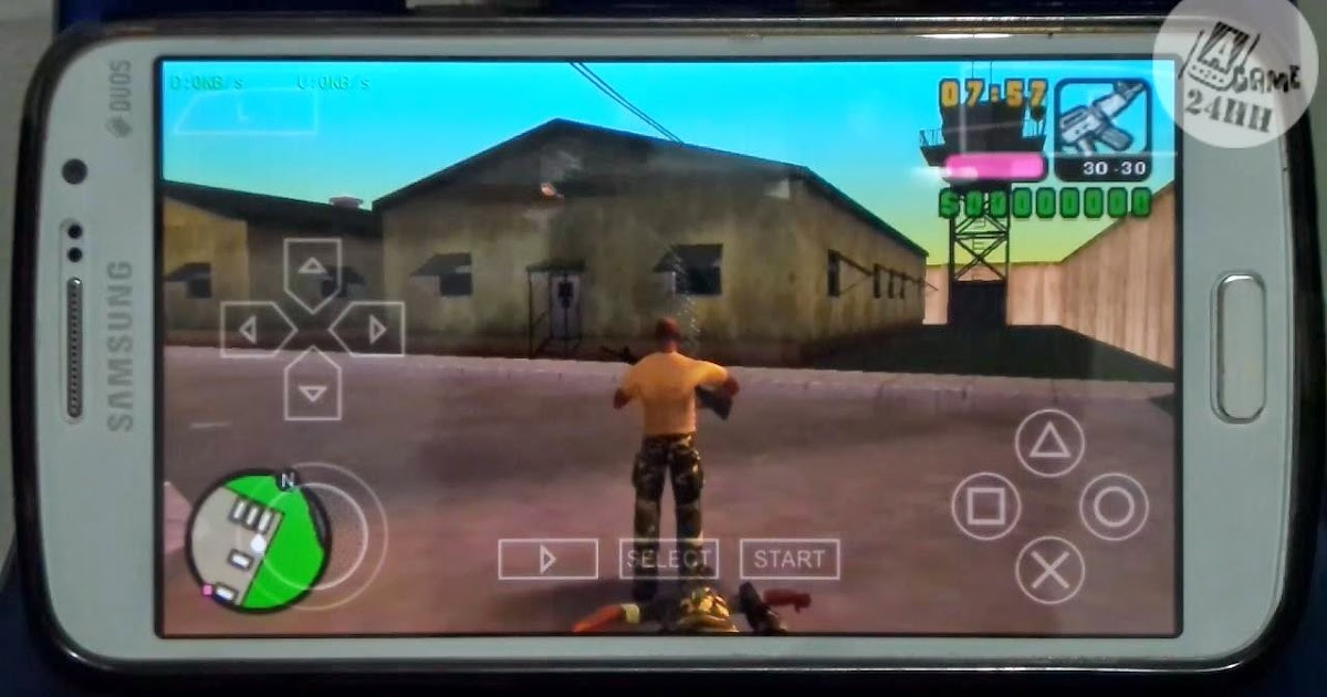 [PSP] PPSSPP Grand Theft Auto - Vice City Stories on Android