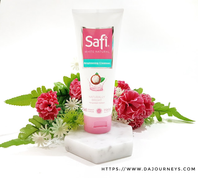 Review Safi White Natural Brightening Cleanser Mangosteen Extract