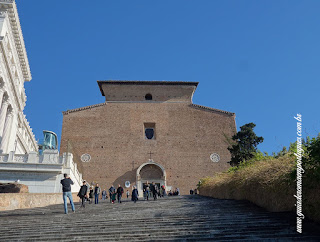 Viagem na Italia com guia em português, Santa Maria in Aracoeli