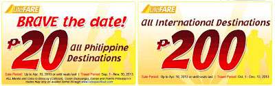 Airlines, Airplane Promo, Cebu Pacific, Cebu Pacific Promo,Domestic Promo, Araw ng kagitingan