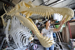 Mandibulas Spinosaurus