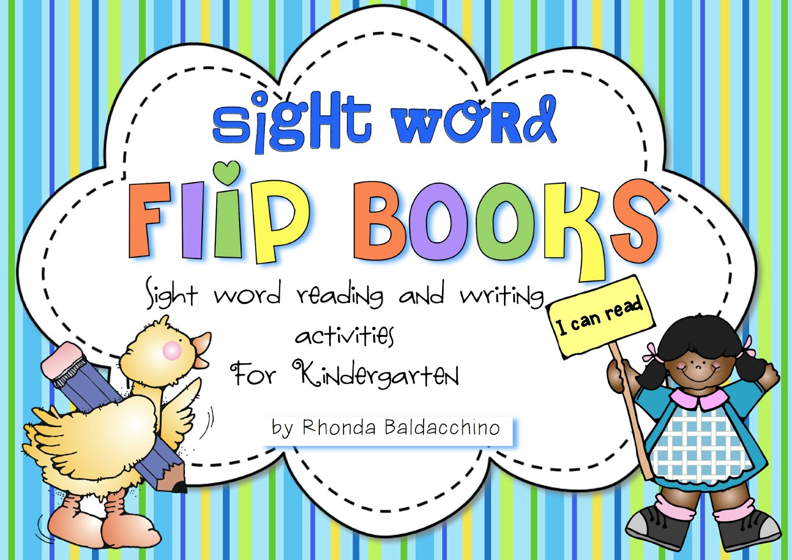 Classroom Fun Sight Word Flip Books