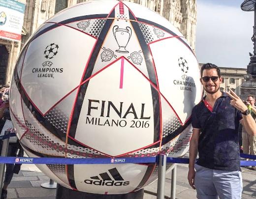 Balón de fútbol campeonatos