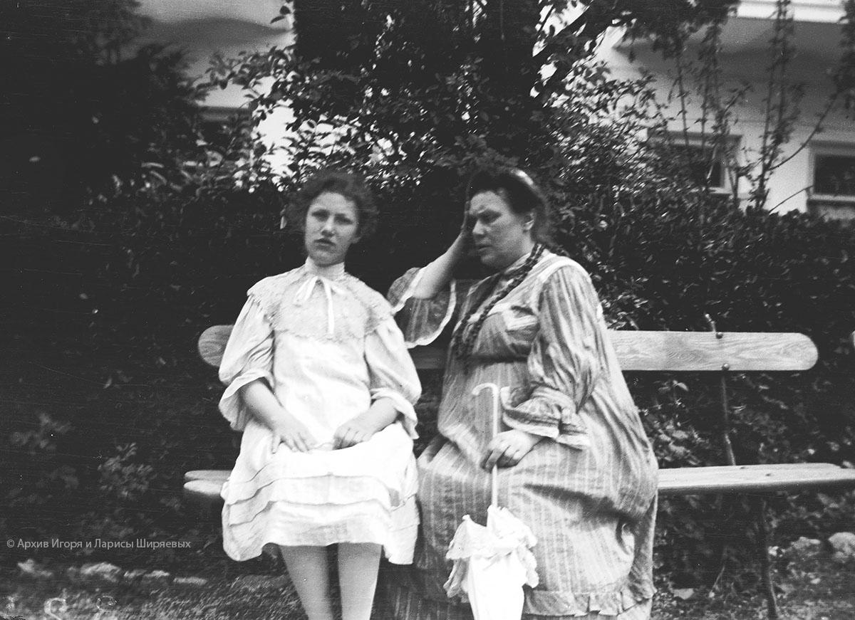 Старое фото Крыма. Женщины