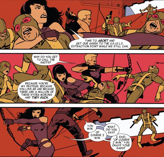 Sự hợp tác của hai Hawkeye