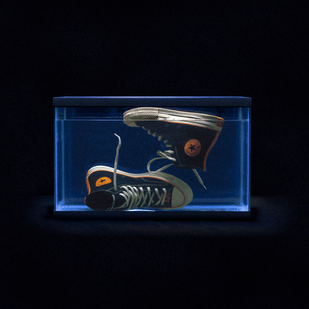 Amazing jing for life converse x vince staples celebrates for Big fish screen printing