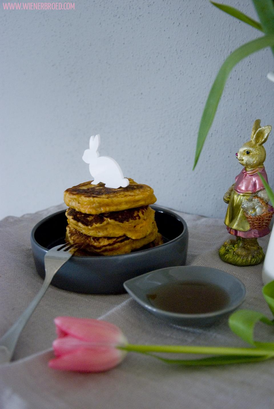 Rüblikuchen-Pancakes / Carrot Cake Pancakes