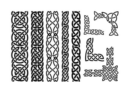 Традиционные кельтские орнаменты.