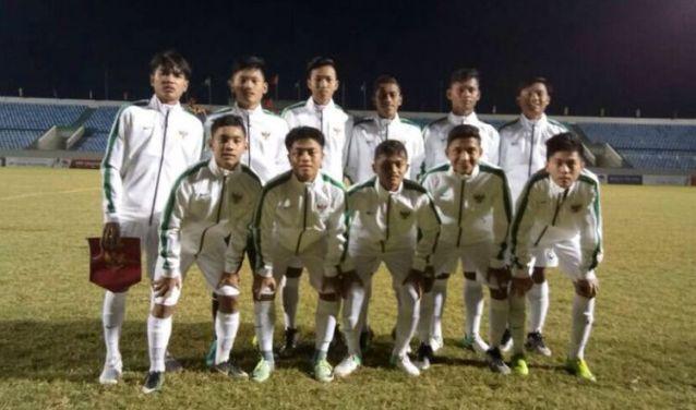 Timnas U-16 Menang Telak 11-0 di Vietnam