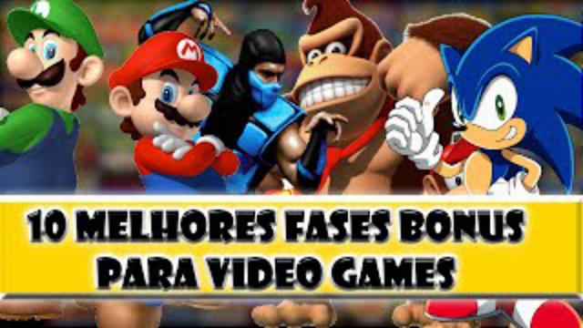 Top 10 Video Game Bonus Stages - Fases bonus