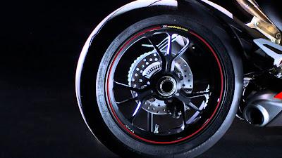 New 2016 Ducati 1299 Panigale S rear alloy wheel