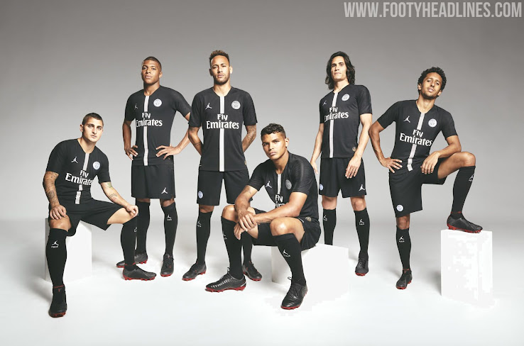 fa92712df2c6e4 Jordan PSG 18-19 Champions League Kits Released - Footy Headlines