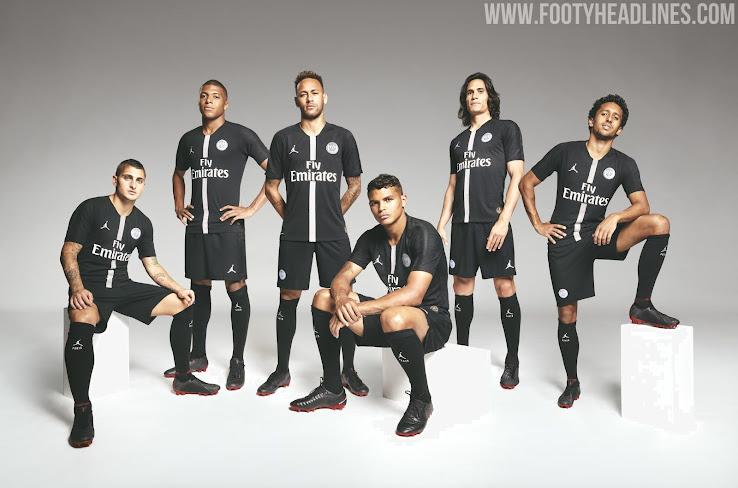jordan psg 18 19 champions league kits