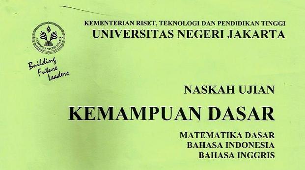 Latihan Soal Penmaba Unj Ujian Mandiri Unj Tahun 2018 2017 Dan