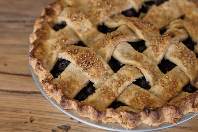 7-inch Blueberry Pie