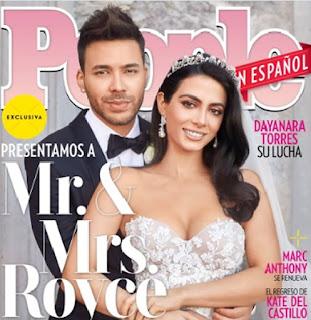 El cantante de origen dominicano, Prince Royce se casó con la actriz y modelo Emeraude Toubia tras ocho años de relación, de acuerdo a People en Español.
