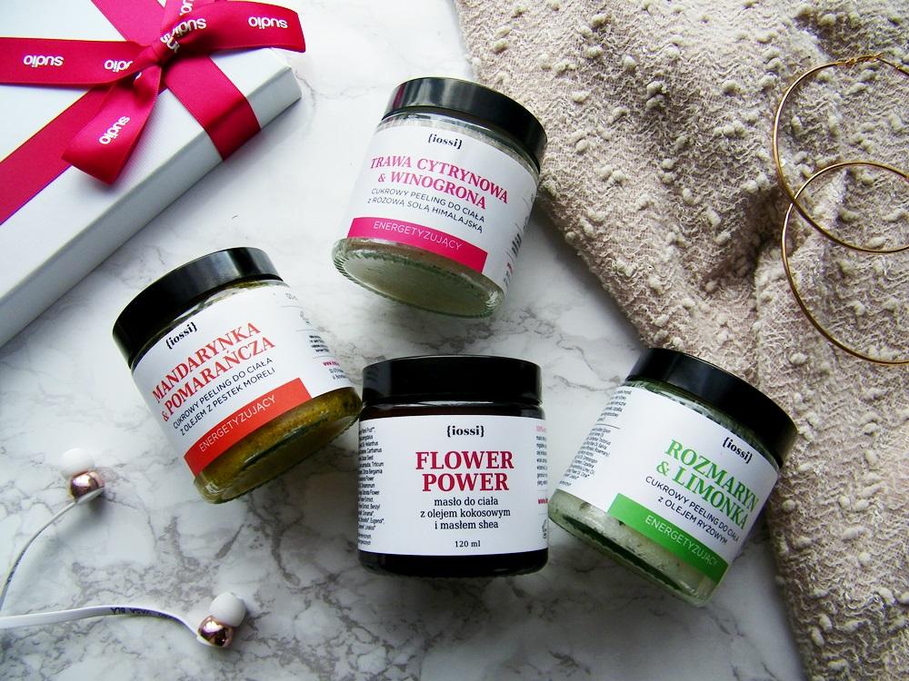 kosmetyki naturalne Iossi - peeling do ciała, masło do ciała