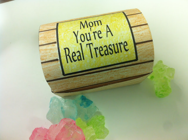 You're A Real Treasure Treasure Box Printable
